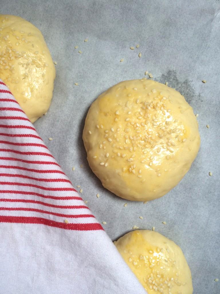 recette pains buns à burger maison - Creatyve