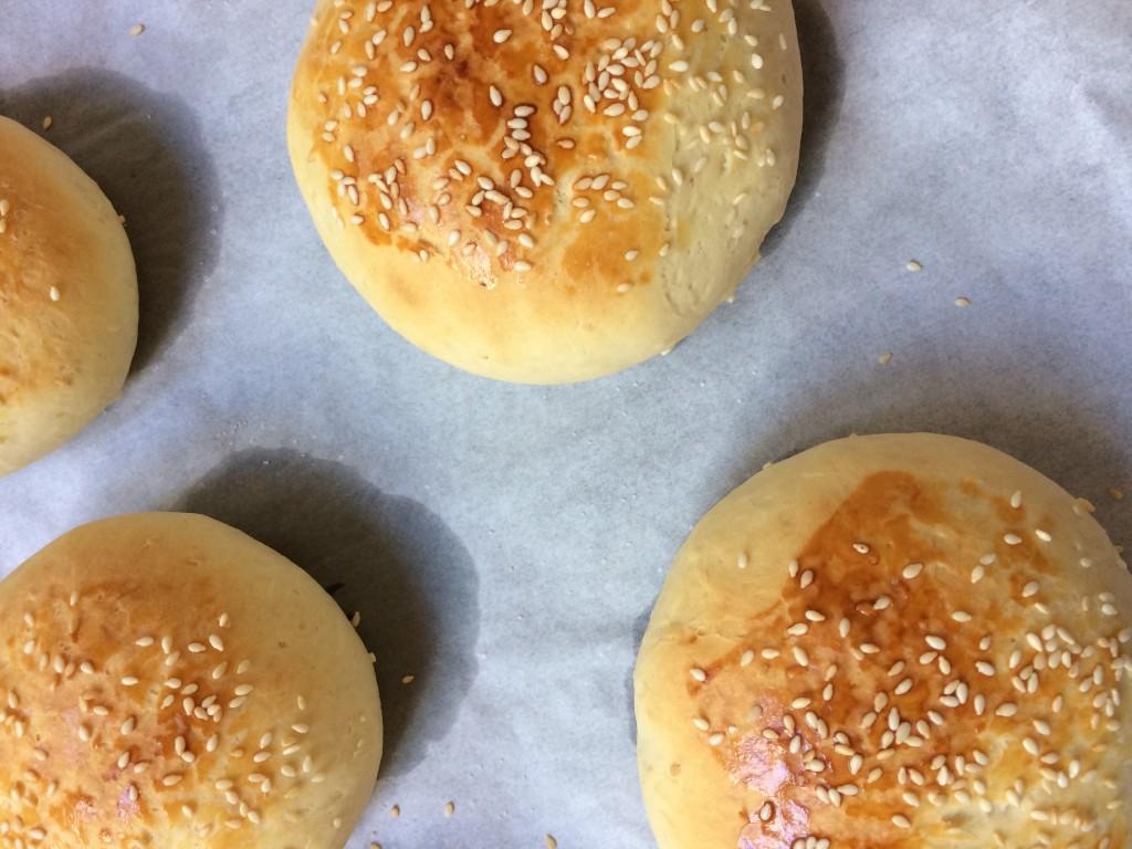 recette pains buns burger maison - Creatyve