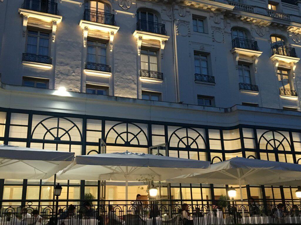 La veranda - Trianon Palace
