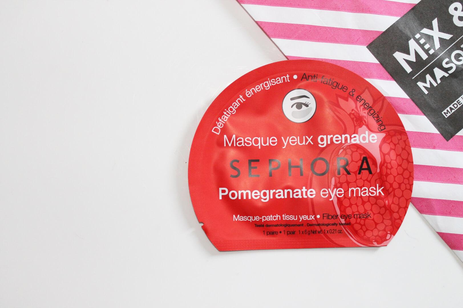 J'ai testé les masques Sephora - Creatyve