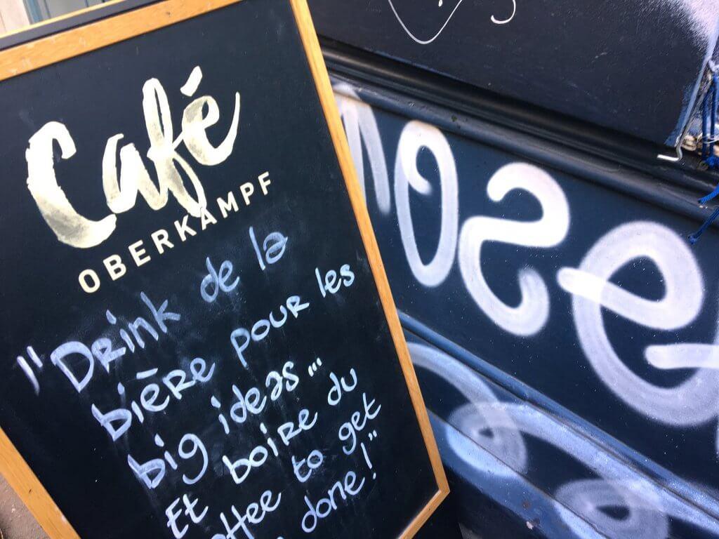Café Oberkampf Paris - Creatyve