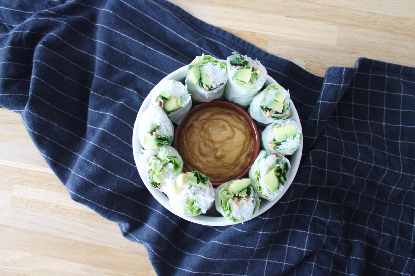 Spring rolls vegan & green - Creatyve